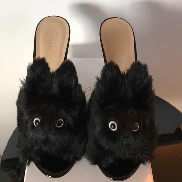 9e4a8051b77a Streetzies High Heel Bunny Slippers